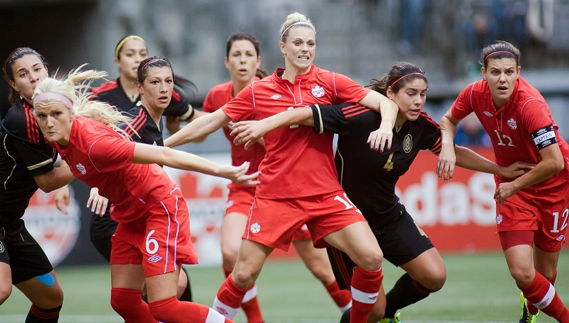 Canada's Women's Natonal Team Draws Mexico In Women's Soccer Friendly